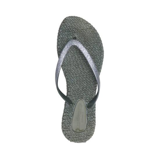 Damen Glitzer Flip Flop