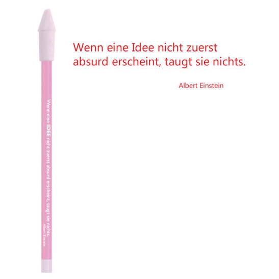 Bleistift rosa, Einstein