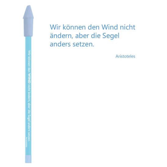 Bleistift blau, Aristoteles