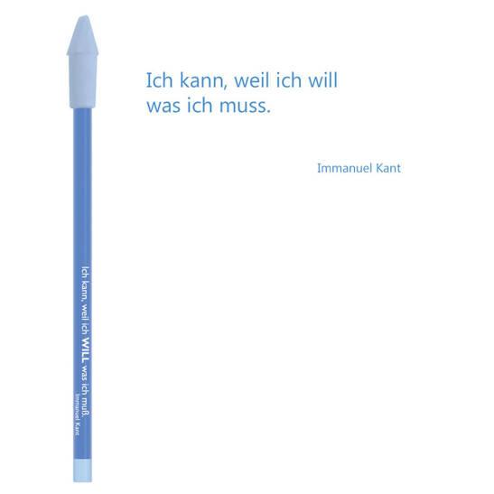 Bleistift veilchenblau, Kant