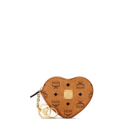 Herzförmige Münzbörse in Visetos