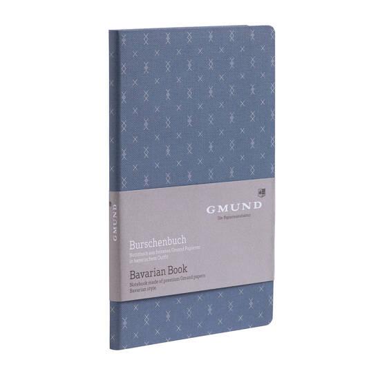 Burschenbuch Raute blau