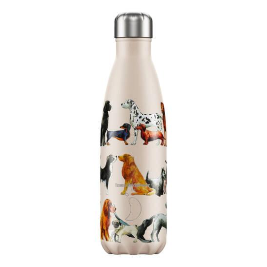Trinkflasche Chilly´s mit Hunden