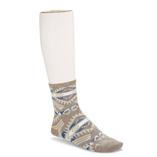 Ethno Linen Socke