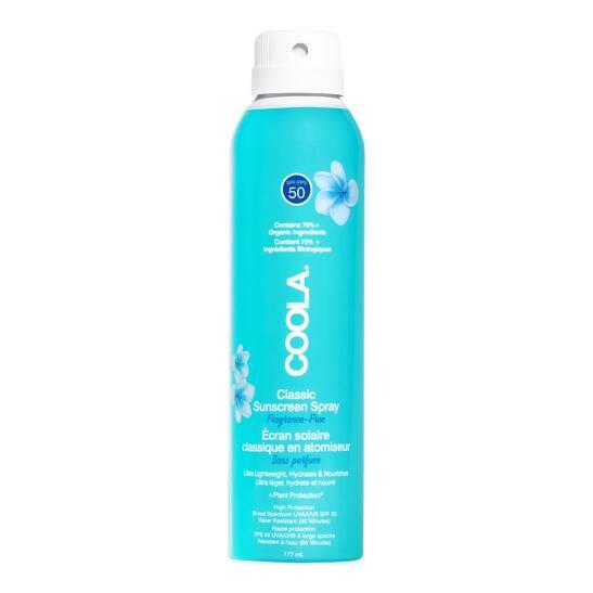Classic SPF 50 Body Spray Unscented