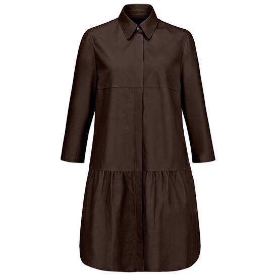 Kleid aus softem Lammnappa-Leder