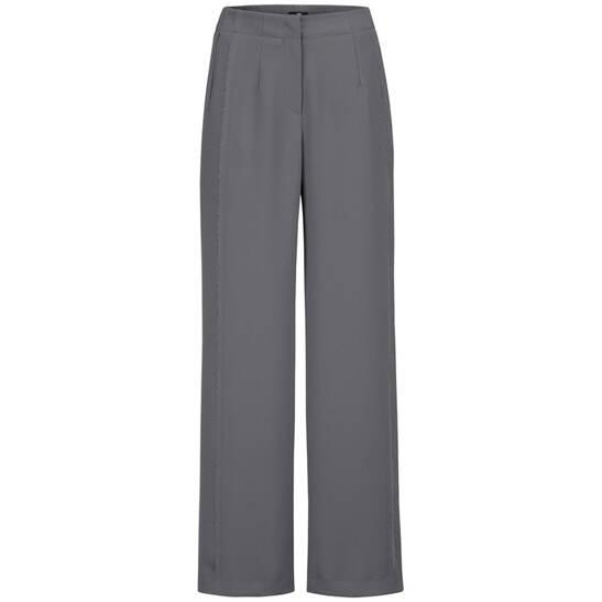 Moderne Hose mit geradem weitem Bein