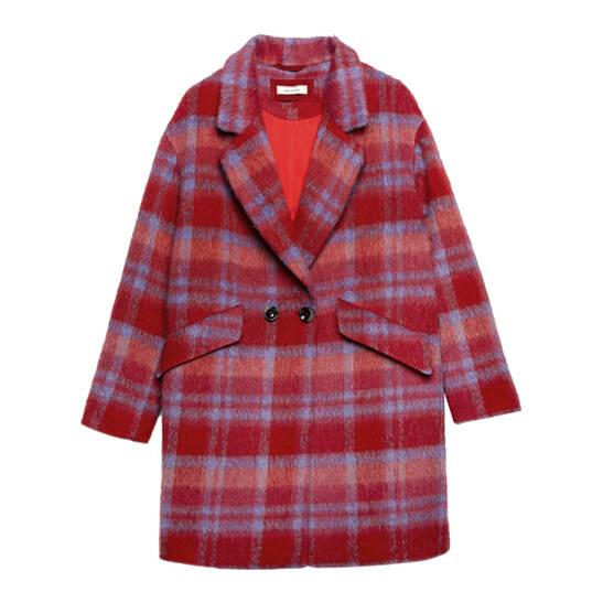 Mantel in flauschiger Qualität