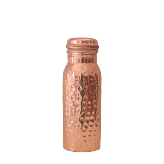 Kupferwasserflasche Hammered 600 ml