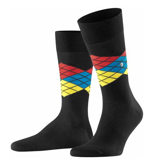 Rubiks Argyle Socke