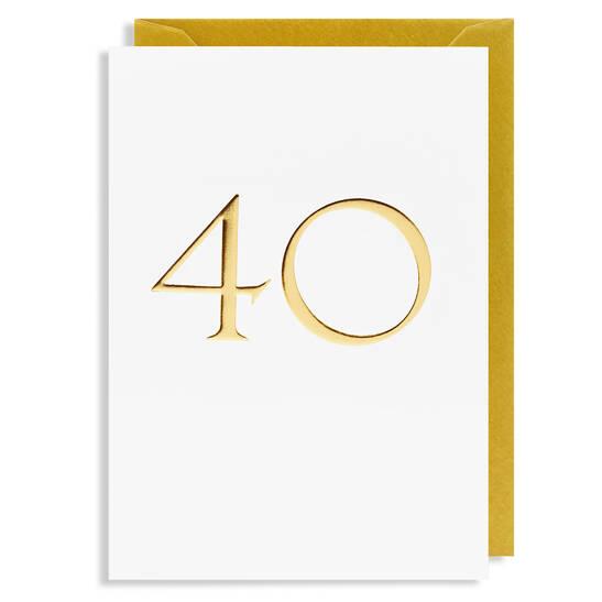 Grußkarte 40
