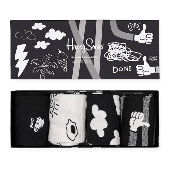 Black and White Gift Set 4 Pack