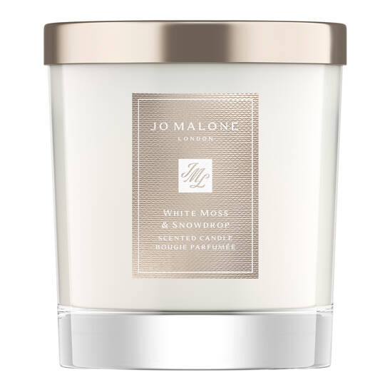 White Moss & Snowdrop Home Candle