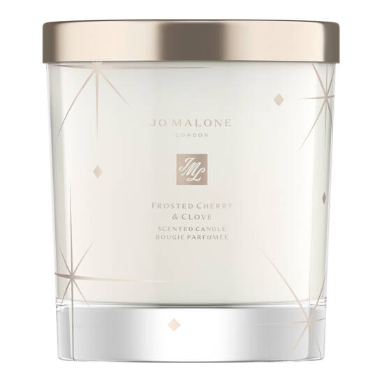 Frosted Cherry & Clove Home Candle