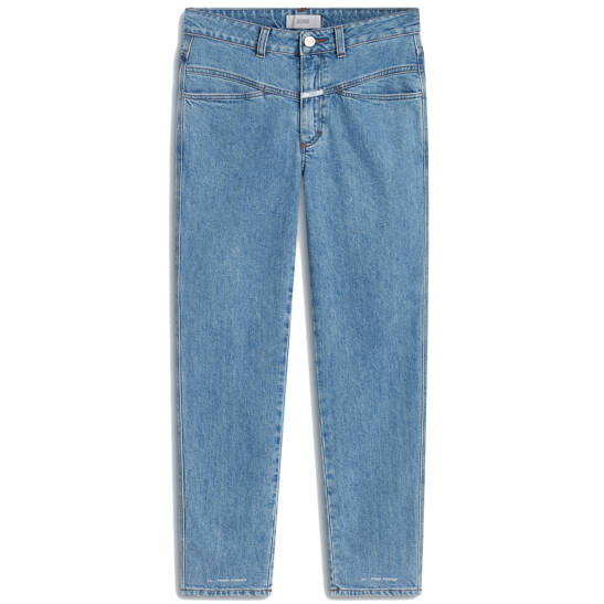 Jeans A Better Blue Pedal Pusher