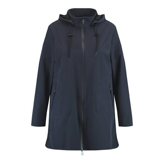 Wind- und wasserabweisende Softshell-Jacke