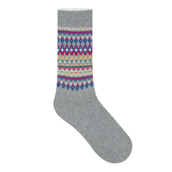 Jacquard Socke